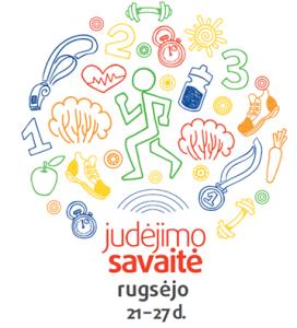 JUDĖJIMO SAVAITĖ 09.21-09.27, 2015