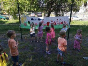 Vasaros stovyklos II diena.  DAILĖS DIENA